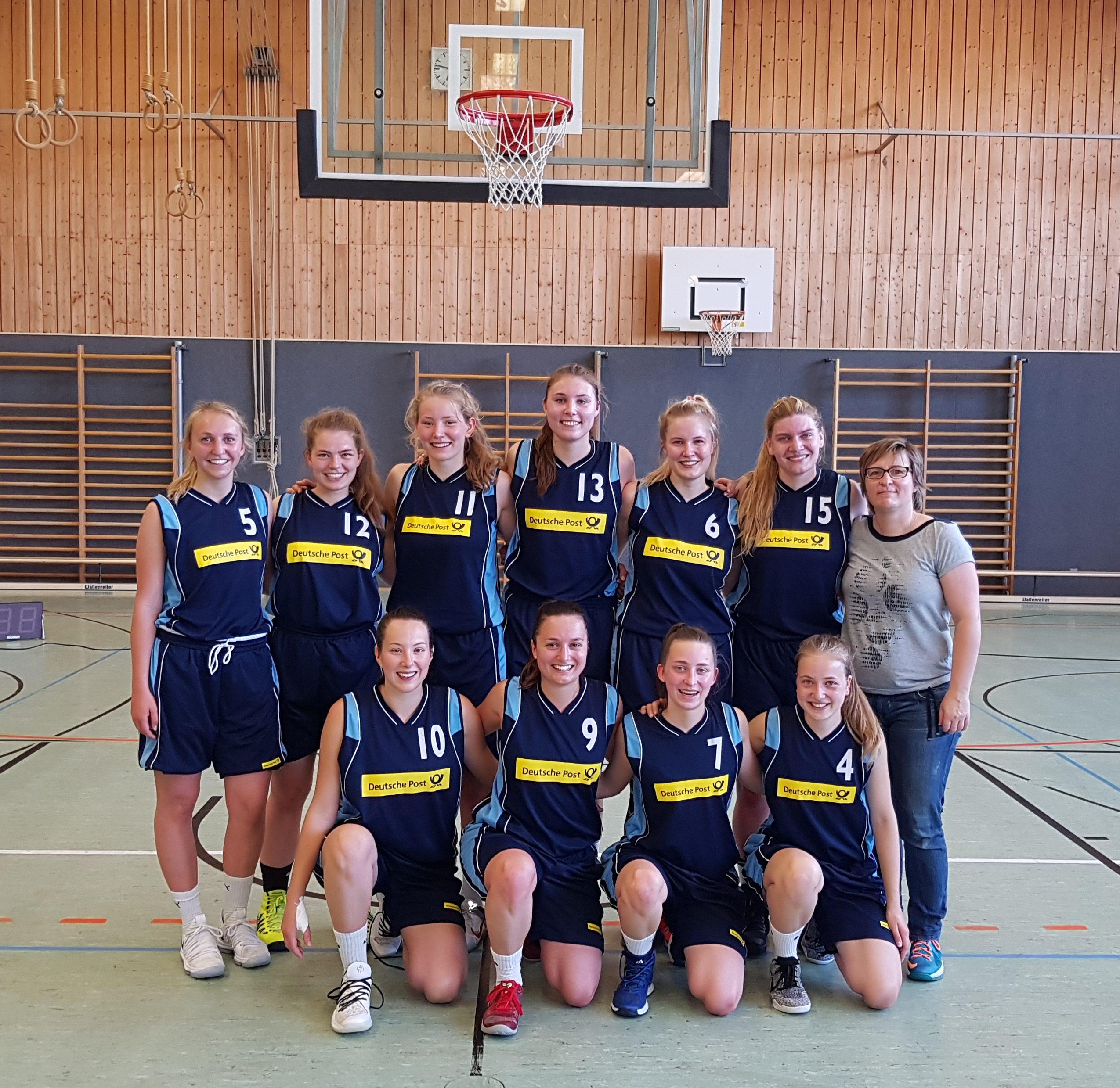 D2 – ungeschlagen Meister in der Bezirksliga Damen Nord